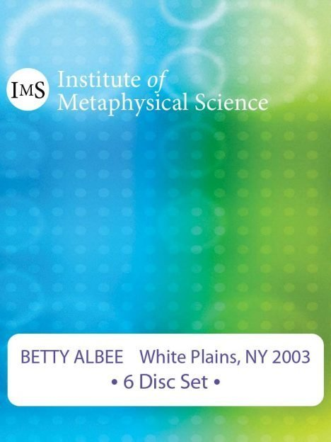 Betty Albee 2003 White Plains Seminar
