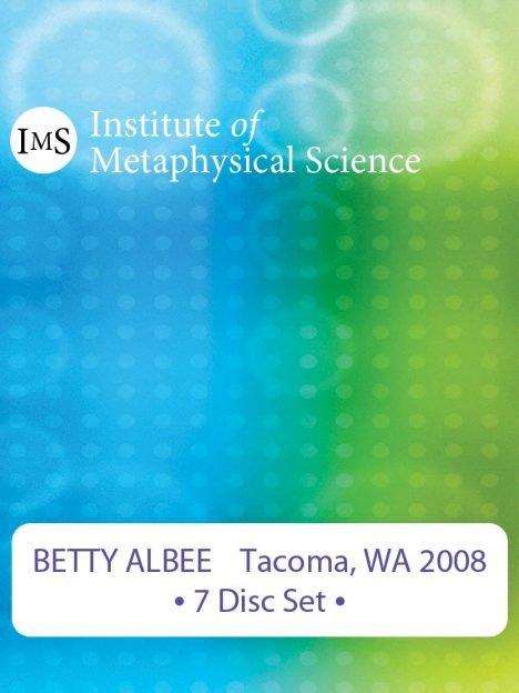 Betty Albee 2008 Tacoma Seminar