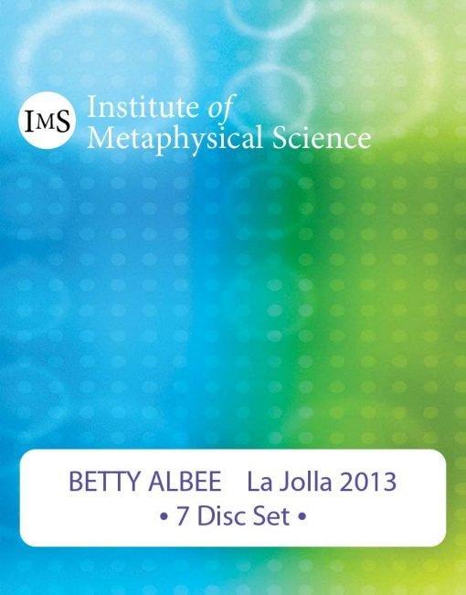 Betty Albee 2013 La Jolla Seminar