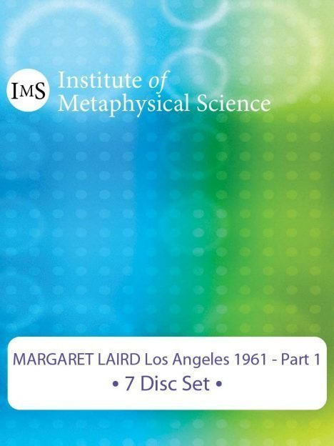 Margaret Laird 1961 Los Angeles Seminar - Part 1