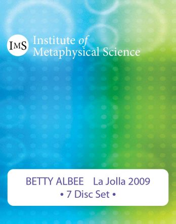 Betty Albee 2009 La Jolla Seminar