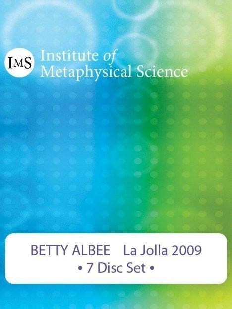 Betty Albee 2009 La Jolla Seminar