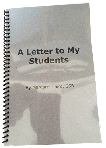 A Letter to My Students by Margaret Laird, CSB