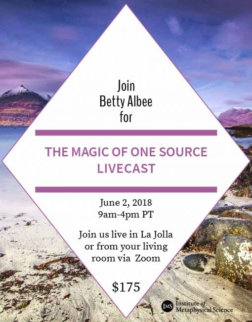 Livecast: The Magic of One Source
