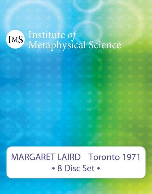 Margaret Laird 1971 Toronto Seminar