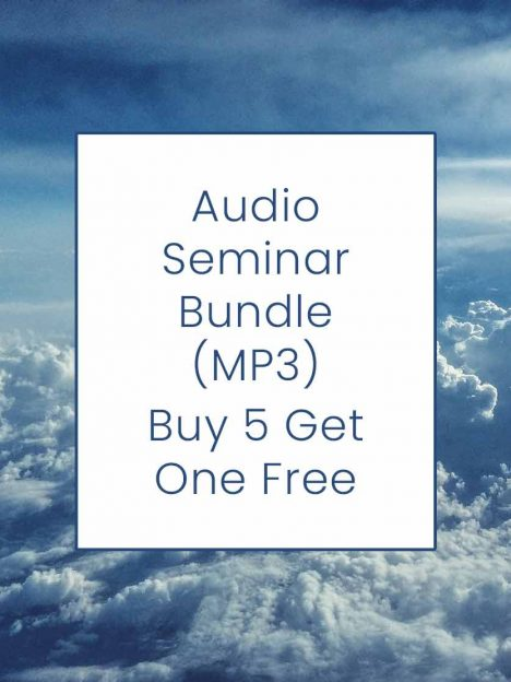 Audio Seminar Bundle (MP3) - Buy 5 Get 1 Free