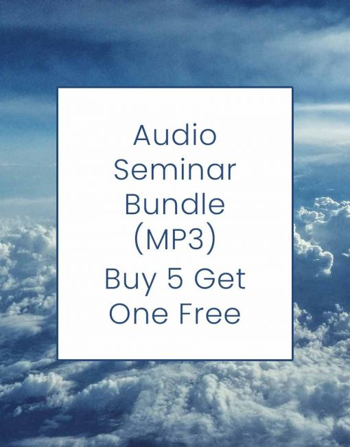 Audio Seminar Bundle (MP3) - Buy 5 Get 1 Free